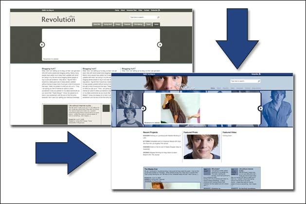 Revamping my website